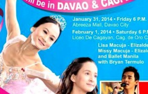Ballet and Ballads performs in Davao