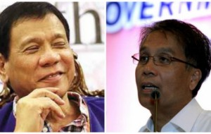 Duterte to Roxas : He can't handle stress