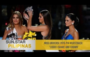 Miss Universe 2015 Pia Wurtzbach: 'Lisod i-share ang crown'