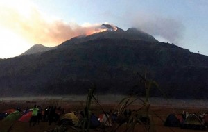 Mt. Apo fire spreads