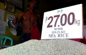 Stable rice supply in Davao