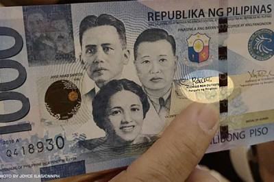 Pres. Duterte's signature is now on your banknotes