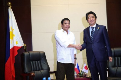 Japan's Abe To visit Duterte's Davao home