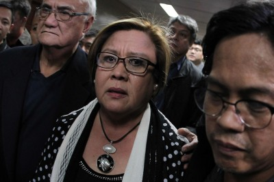 De Lima: It is my honor to be imprisoned for what I am fighting for