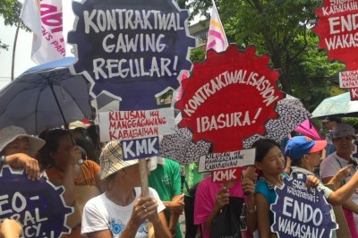 Dutertenomics Blamed by Gabriela for PH womens Low Earning