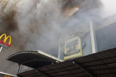1 body recovered, 36 feared dead in NCCC mall fire