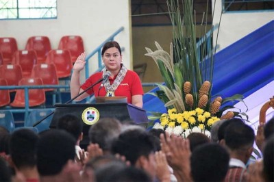 Sara Duterte-Carpio to run for mayor in 2019