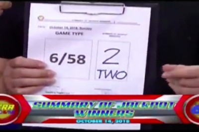 2 win P1.18-billion Ultra Lotto jackpot